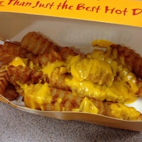 Photo taken at Nathan's Famous/Arthur's Treacher's by Erica C. on 10/16/2014