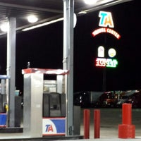 Photo taken at TravelCenters of America by Tykeaira P. on 7/30/2013