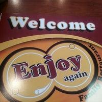 Photo taken at Enjoy Again Family Restaurant by Dexter P. on 8/3/2013