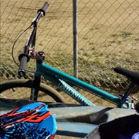 Photo taken at Catcus Park BMX by Nanc D. on 2/14/2014