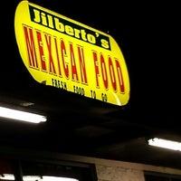Photo taken at Jilberto's Taco Shop by Nanc D. on 4/11/2014