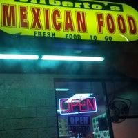 Photo taken at Jilberto's Taco Shop by Nanc D. on 3/21/2014