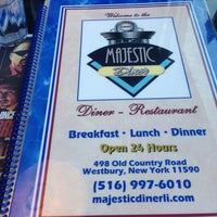 Photo taken at Majestic Diner by Liz G. on 4/28/2013
