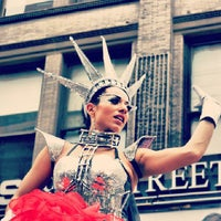 Photo taken at The 7th Annual Dance Parade & Festival 5.18.13 by Chauncey D. on 8/8/2013