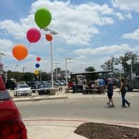 Photo taken at Alamo Toyota by Kristi C. on 4/19/2014