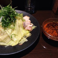 Photo taken at つけ麺本舗 辛部 五日市店 by 渡部 智. on 3/4/2015