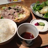 Photo taken at 四季の旬菜料理 AEN 丸井溝口店 by Shingo F. on 12/30/2012