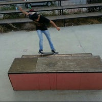 Photo taken at Gürpinar Skate Park by Fatih B. on 9/4/2013