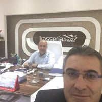 Photo taken at Kasseria travel by Mitat A. on 3/19/2016