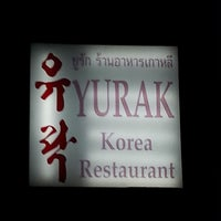Photo taken at YURAK korean restaurant by Chickychic P. on 3/27/2014
