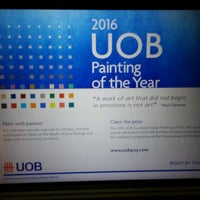 Photo taken at UOB (United Overseas Bank) by Kelly Chew on 8/31/2016