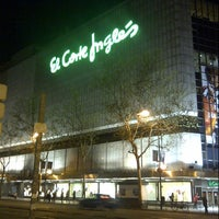 Photo taken at El Corte Inglés by Bayu F. on 4/17/2013