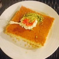 Photo taken at حلويات الحلاب by Hind 🐌 on 3/17/2016