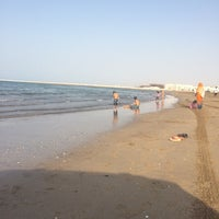 Photo taken at As Seeb Beach by Abdullah A. on 5/27/2014