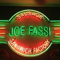 Photo taken at Joe Fassi's Sandwich Factory by Chris R. on 7/20/2013