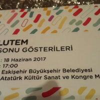 6/18/2017 tarihinde Fatmagül T.ziyaretçi tarafından Eskişehir Atatürk Kültür Sanat ve Kongre Merkezi'de çekilen fotoğraf