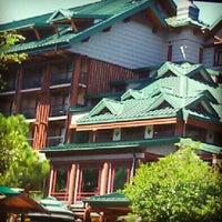 Photo taken at Disney's Wilderness Lodge by Kathy L. on 10/4/2012