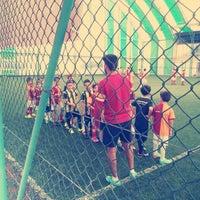 Photo taken at Galatasaray Futbol Okulu by Ahmet Özbek on 11/15/2014