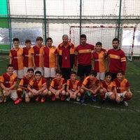 Photo taken at Galatasaray Futbol Okulu by Ahmet Özbek on 11/30/2014