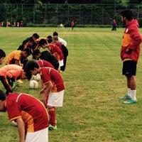 Photo taken at Galatasaray Futbol Okulu by Ahmet Özbek on 8/15/2015