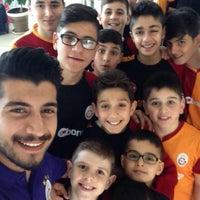 Photo taken at Galatasaray Futbol Okulu by Ahmet Özbek on 4/4/2015