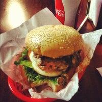 Photo taken at Phyllis' Giant Burgers - San Rafael by Ryan G. on 12/1/2012