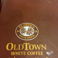 Photo taken at OldTown White Coffee by Jason T. on 1/31/2013