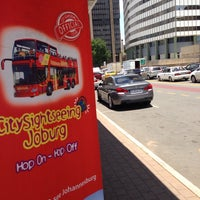 Photo taken at Gautrain Park Station by Ikenna E. on 11/29/2014