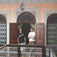 Photo taken at Riad Idrissi by Romano P. on 9/17/2013