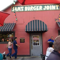 Photo taken at Sam's Burger Joint by FNB T. on 7/27/2013