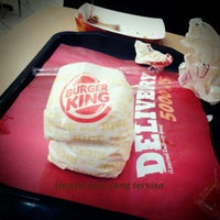 Photo taken at Burger King by Abie on 11/24/2012