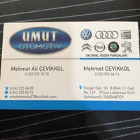 Photo taken at Umut Otomotiv by Mert Çevikkol😎😎 on 8/27/2016