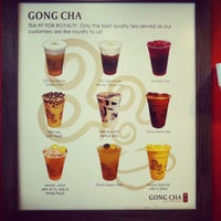 Photo taken at Gong Cha 貢茶 by  RAZZ MANN  on 1/1/2013