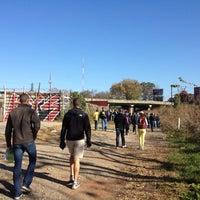Das Foto wurde bei Atlanta BeltLine Corridor at Irwin St. von Jesse B. am 11/17/2012 aufgenommen