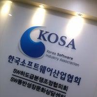 Photo taken at Korea Software Industry Association by Kyutae T. on 2/21/2014