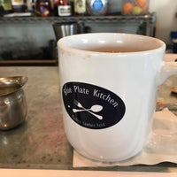 Photo taken at Blue Plate Kitchen by Gianfranca F. on 2/10/2018