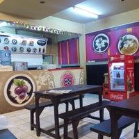 Photo taken at Moy Moy Aneka Bubur Manis ala Taiwan by Lia n. on 3/21/2015