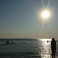 Photo taken at Saronida Beach by Vasia B. on 7/7/2013