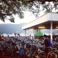 Photo taken at Mui Wo Ferry Pier 梅窩渡輪碼頭 by Ernest C. on 1/23/2013