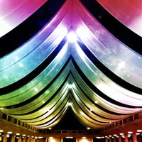 Photo taken at Shrine Auditorium & Expo Hall by Adam W. on 10/24/2012