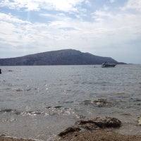 Photo taken at KAPE Sounio Nudist Beach by Nassos C. on 9/7/2013