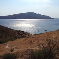 Photo taken at KAPE Sounio Nudist Beach by Nassos C. on 9/8/2013