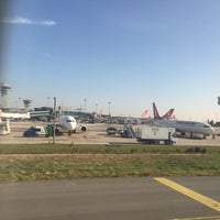 Photo taken at TK1883 IST-VIE / Turkish Airlines by Emre AÖ on 11/18/2015