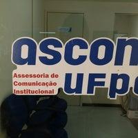 Photo taken at Assessoria de Comunicação Institucional (ASCOM) by Laís T. on 8/14/2013