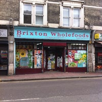 Photo taken at Brixton Wholefoods by Sophie M. on 3/17/2014