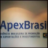 Photo taken at ApexBrasil by Roberto P. on 10/29/2013