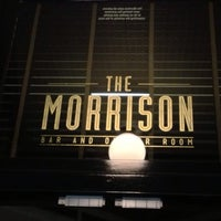 Foto scattata a The Morrison Bar & Oyster Room da Trevor D. il 7/5/2013