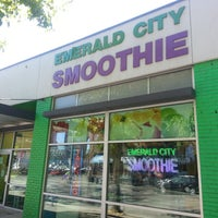 Photo taken at Emerald City Smoothie by Emerald City Smoothie on 7/25/2013
