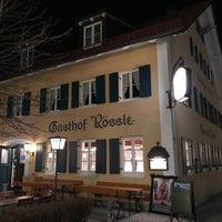 Photo taken at Gasthof Rössle by nfbmuc on 3/3/2017