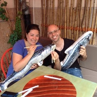 Photo taken at Pelican Sushi by Sunny (&Marco) G. on 6/15/2014